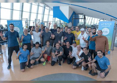 Sheikh Hamdan is pushing everyone to take the Dubai Fitness Challenge