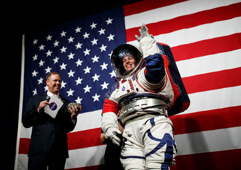 NASA has new spacesuits for trips to Moon and Mars