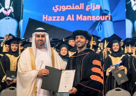 World's first Emirati astronaut receives PhD from Khalifa University