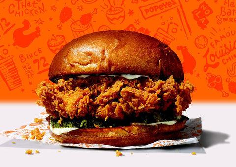 The $65 million Popeyes Chicken Sandwich craze continued