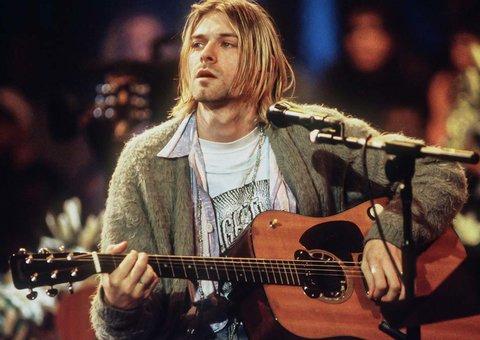 Unwashed cardigan belonging to Nirvana's Kurt Cobain sells for $334,000