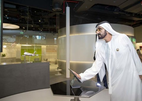 Sheikh Mohammed launches four 'future labs' in Dubai