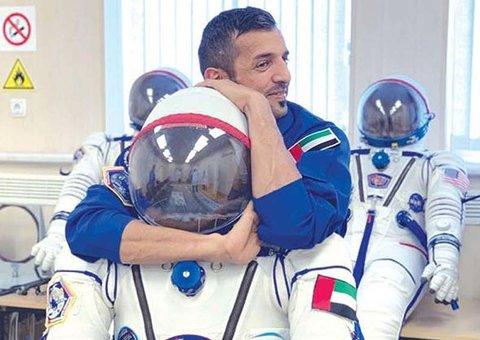 Emirati astronaut said jiu-jitsu skills got him through space training