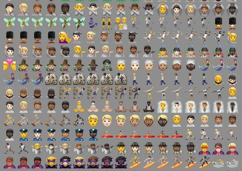 Apple just unveiled hundreds of inclusive and diverse emojis