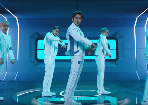 K-Pop group SuperM release Korea Air safety video