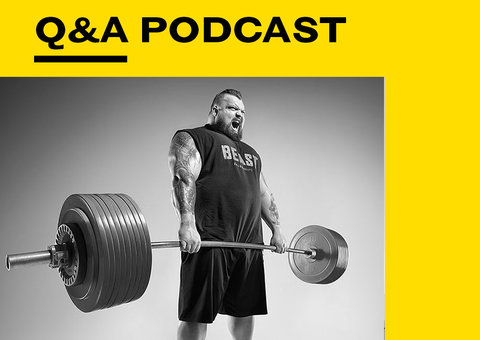World's Strongest Man Eddie Hall on lifting 500 kgs and working out with Schwarzenegger