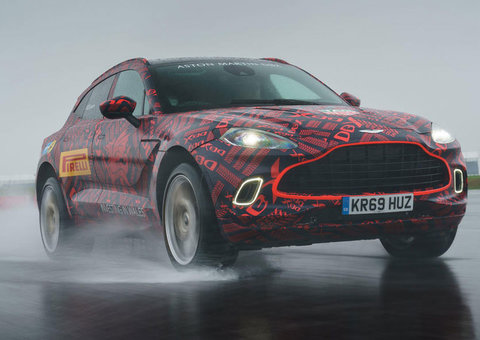 The DBX: A look at Aston Martin's $190,000 super-SUV