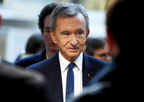 Bernard Arnault is now world's second richest man and he's closing in on Jeff Bezos fast