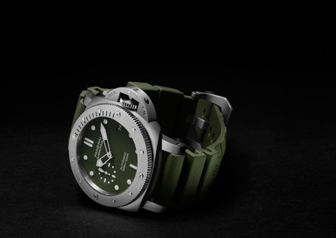 Panerai's $8,700 green Submersible you can only buy online