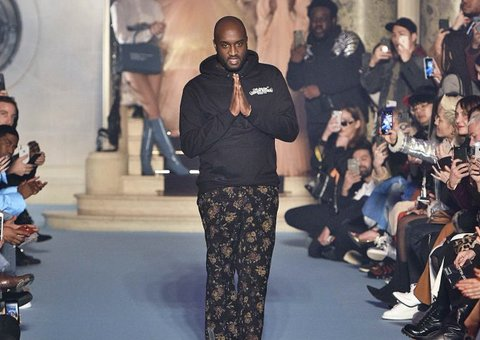 After taking time off, Virgil Abloh returns to work at Louis Vuitton
