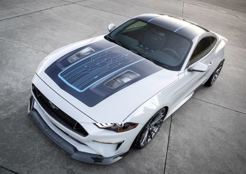 Ford's electric Mustang packs 900hp under the hood
