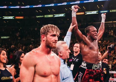 KSI beat YouTube rival Logan Paul in boxing rematch