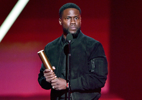 Kevin Hart makes first public appearance since his horrific car accident