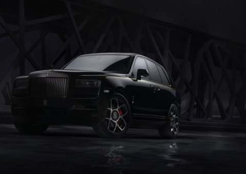 Rolls-Royce introduces new Black Badge Cullinan