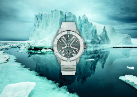 Ulysse Nardin unveil Diver x Antarctica