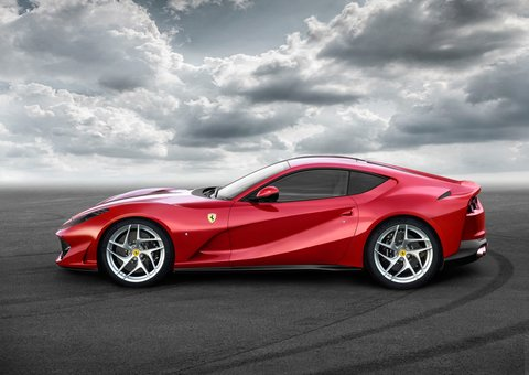 The Ferrari 812 Superfast is worthy of  your full attention