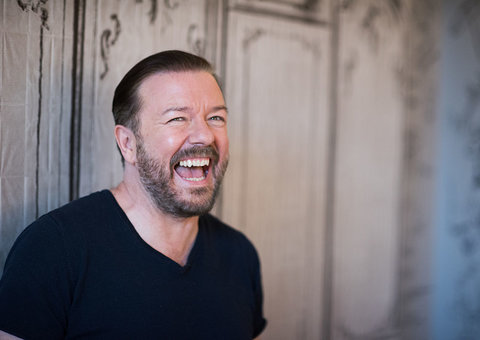 Ricky Gervais to host his 5th Golden Globes in January 2020