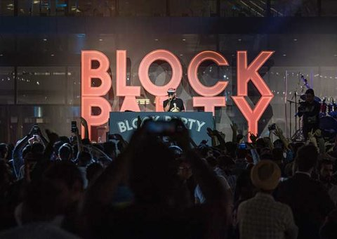 In Pictures: Abu Dhabi Block Party