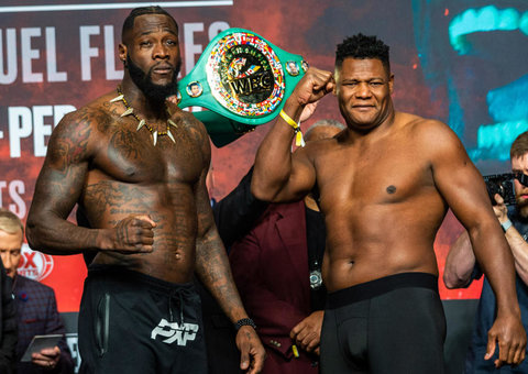 Deontay Wilder knocked out Luiz Ortiz with just a single insane punch