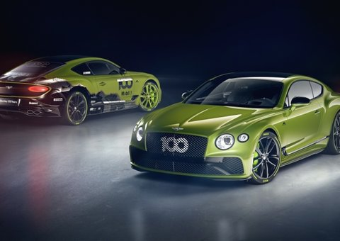 Bentley launches limited edition Continental GT