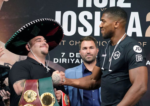 Everything you need to know about Andy Ruiz vs. Anthony Joshua fight in Saudi
