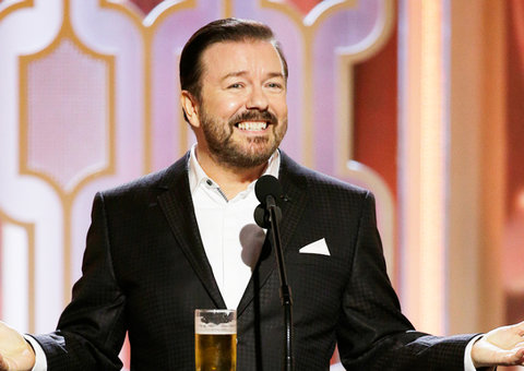 Ricky Gervais' best jokes from the 2020 Golden Globes