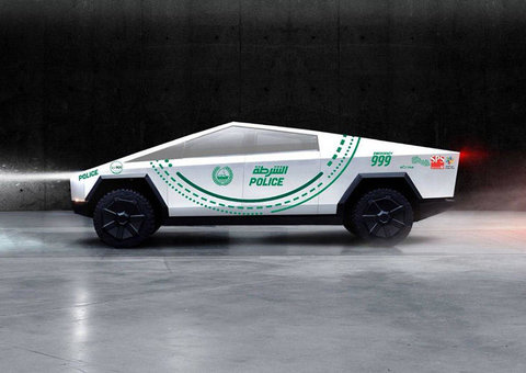 Did Dubai Police really order a Tesla Cybertruck for its fleet?