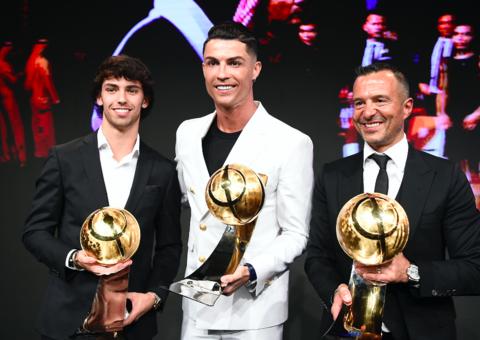 Cristiano Ronaldo scoops Men's Player of the Year at Globe Soccer Awards 2019 in Dubai
