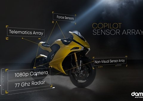 BlackBerry (yes, that blackberry) is making motorbikes now