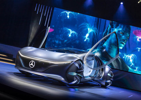 Mercedes-Benz unveil new Avatar-inspired future car