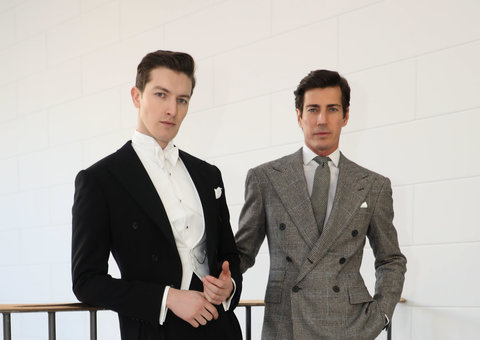 The Ralph Lauren Purple label Fall 2020 collection is here