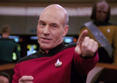 I can't wait for Patrick Stewart's return to Star Trek
