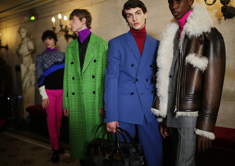 Berluti loves leather in latest fall/winter 2020 show