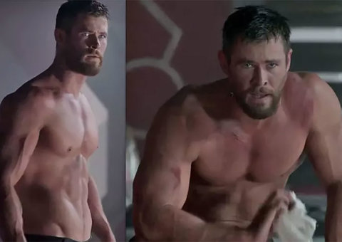 Chris Hemsworth wants you to be as jacked as he is