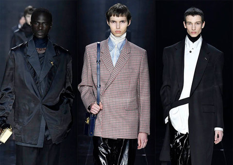In pictures: Dunhill autumn/winter 2020 show