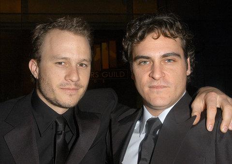 Joaquin Phoenix thanks Heath Ledger in awards speech