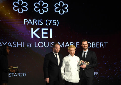 Kei Kobayashi becomes first Japanese chef to win three Michelin stars