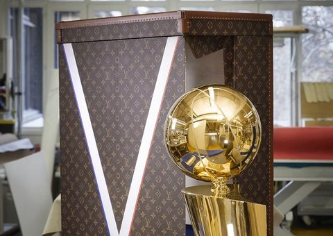 This luxe trophy case is the beggining of the NBA x Louis Vuitton collab