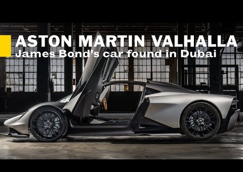 Aston Martin Valhalla: Finding James Bond's hypercar in Dubai