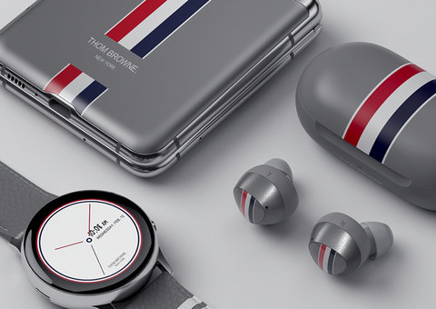 Samsung and Thom Browne collaborate on limited edition Galaxy Z Flip