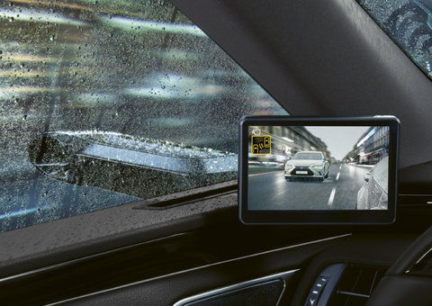 Lexus unveils new car with cameras instead of side-view mirrors