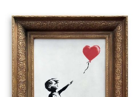 Here's how you can go visit the new Banksy exhibit in Riyadh