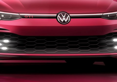 Volkswagen teases high-tech Golf GTI designed for digital