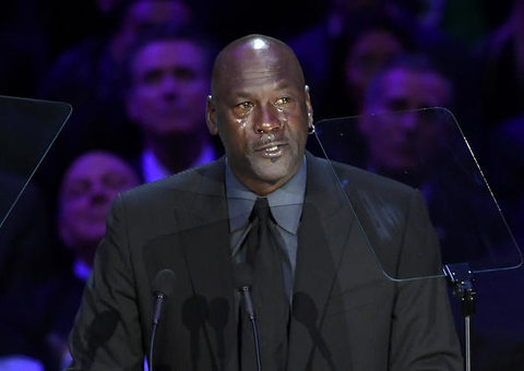 Michael Jordan cried his heart out while remembering 'little brother' Kobe Bryant
