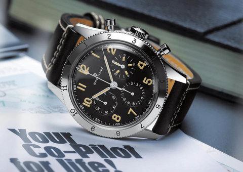 Breitling announces new Co-Pilot chronograph