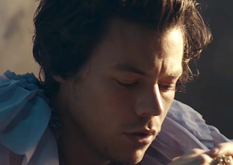Harry Styles in the new 'Falling' video is a sad boy