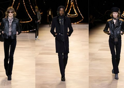 Celine Runway Report: Rock 'N' Roll androgyny takes over Paris Fashion Week