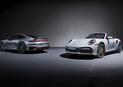 The new 911 Turbo S is Porsche's most powerful ever