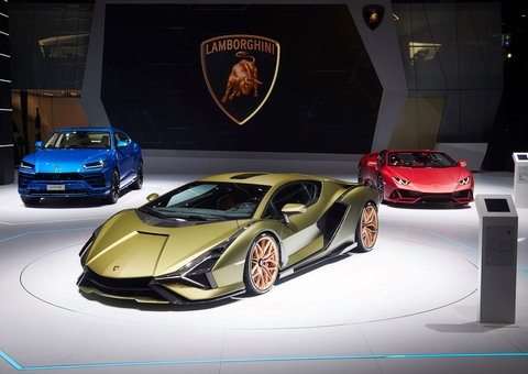 Lamborghini's hybrid supercar – Sian – is secretly being tested