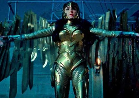 Wonder Woman's golden eagle costume is DC's version of Iron Man